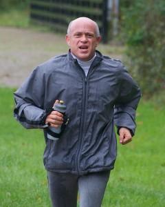 Marathon training run